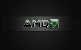 Preview wallpaper AMD brand logo