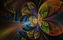Preview wallpaper Abstract picture, colorful, like a butterfly