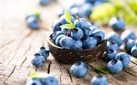 Preview wallpaper Blueberry, fruit close-up