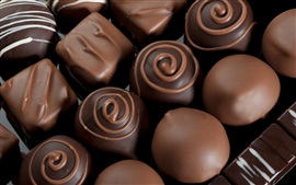 Preview wallpaper Delicacies chocolate candy