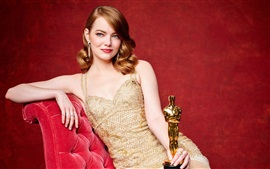 Preview wallpaper Emma Stone, Oscar 2017