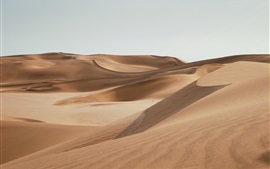 Preview wallpaper Emptiness desert, sands