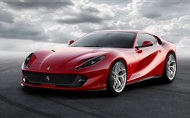 Preview wallpaper Ferrari 812 Superfast 2017