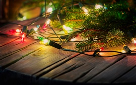 Holiday lights, decoration