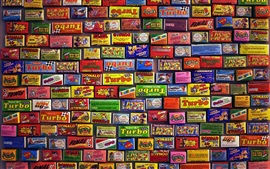 Many brands candy