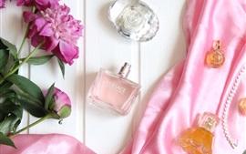 Vorschau des Hintergrundbilder Parfüm und Blumen