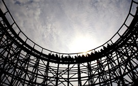 Preview wallpaper Roller coaster, recreational facilities