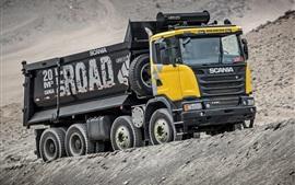 Preview wallpaper Scania G440 dump truck