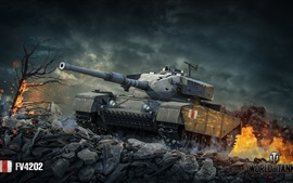 Preview wallpaper World of Tanks, stones, xbox games
