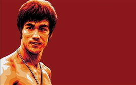 Preview wallpaper Bruce Lee, art picture