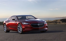 Buick Avista red concept car