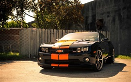 Preview wallpaper Chevrolet Camaro SS car front view