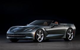 Preview wallpaper Chevrolet Corvette C7 Stingray supercar