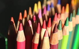 Preview wallpaper Colorful crayons