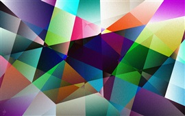 Preview wallpaper Colorful shape, abstract