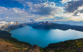 Preview wallpaper Columbia, Canada, nature, mountains, lake