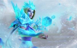 Preview wallpaper Crystal maiden, DOTA 2 games