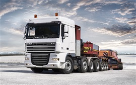 Preview wallpaper DAF XF105 truck