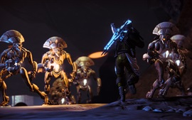 Preview wallpaper Destiny, game characters