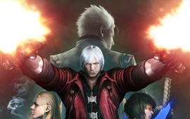 Preview wallpaper Devil May Cry, game HD