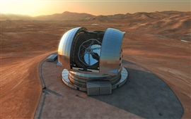 Preview wallpaper European extremely large telescope, science