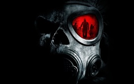 Preview wallpaper Gas mask