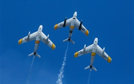 Preview wallpaper North American F-86 Sabre planes