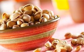 Preview wallpaper One bowl pistachios, nuts