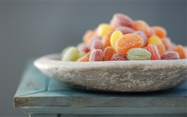 Preview wallpaper One plate soft candy