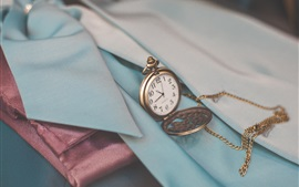 Preview wallpaper Pocket watch, chain