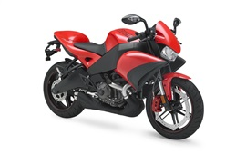 Red Buell moto