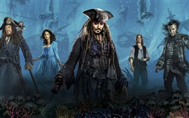 Preview wallpaper 2017 Disney movie, Pirates of the Caribbean: Dead Men Tell No Tales