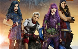 Preview wallpaper 2017 movie, Descendants 2