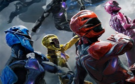 Preview wallpaper 2017 movie, Power Rangers