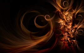 Luz abstracta, colores marrones