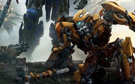 Preview wallpaper Bumblebee, Transformers 2017