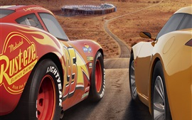 Preview wallpaper Cars 3, Disney movie 2017