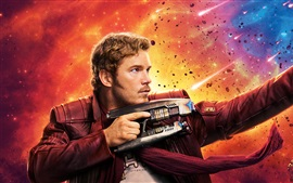 Aperçu fond d'écran Chris Pratt, Guardians of the Galaxy Vol. 2