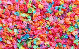 Preview wallpaper Colorful cereal