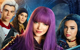 Aperçu fond d'écran Descendants 2, Disney film 2017