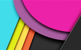 Preview wallpaper Geometry lines, colorful colors, abstraction