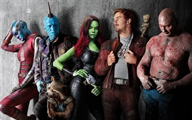 Preview wallpaper Guardians of the Galaxy 2, Marvel movie 2017