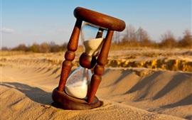 壁紙のプレビュー 砂時計、砂