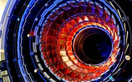 Preview wallpaper Large hadron collider, particle, technology