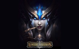 Preview wallpaper League of Legends, armor, girl