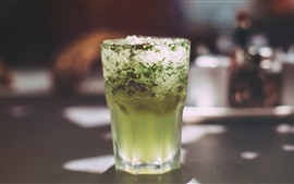 Preview wallpaper Mojito drinks, cocktail, ice, cold
