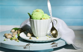 Preview wallpaper One cup ice cream, summer dessert