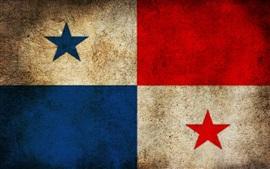 Aperçu fond d'écran Drapeau du Panama