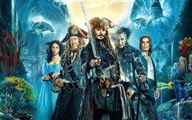 Aperçu fond d'écran Pirates des Caraïbes: Les Hommes Morts Tell No Tales