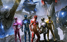Preview wallpaper Power Rangers HD 2017